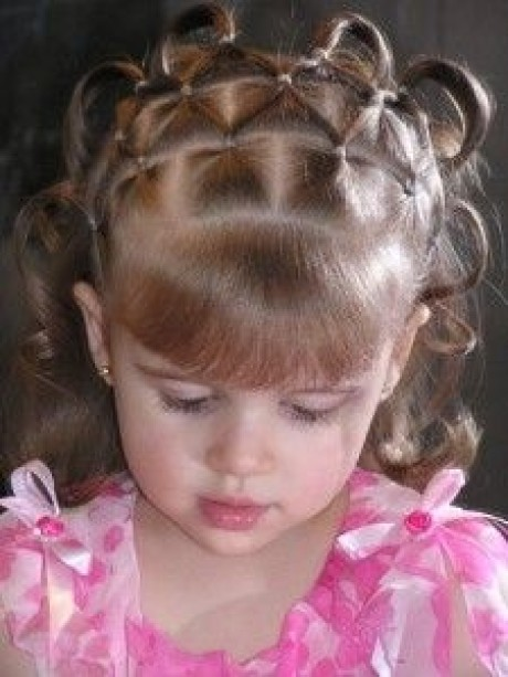 Hairstyle for small girl