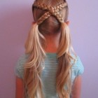 Hairstyles for a little girl