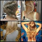 Hairstyles involving braids