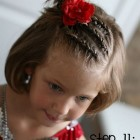 Little girl hairstyles for short hair