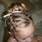 Little girls hair do