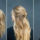 Quick and easy hairdos for long hair