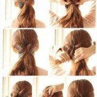 Quick hairdos for long hair