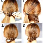 Simple easy to do hairstyles