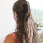 Simple girl hairstyles