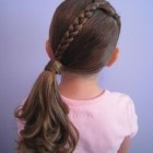 Simple hairdos for little girls