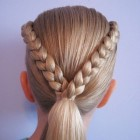 Simple hairstyles for short hair for kids