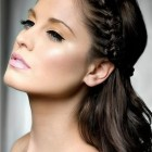 Simple plait hairstyles