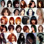 Styles of hair cuts