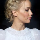 Celebrity updo hairstyles 2020