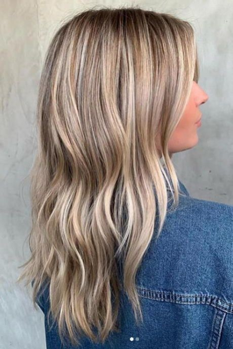 Latest blonde hair colours 2020