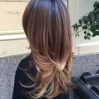 Layered hairstyles for long hair 2020