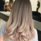 Long thin hairstyles 2020