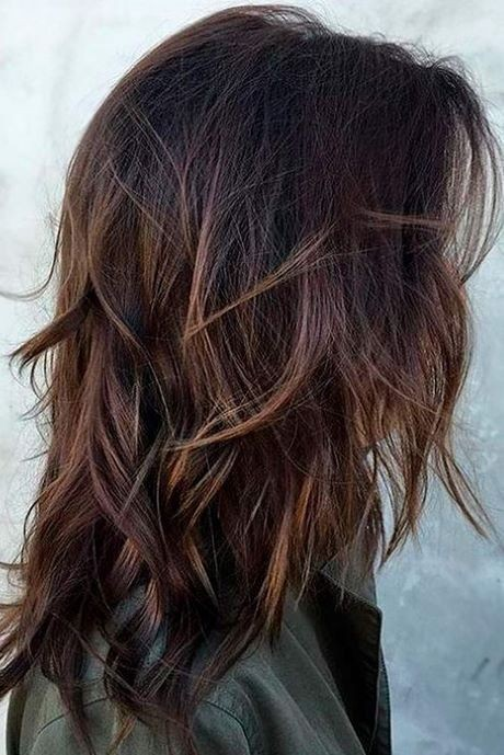 Mid length layered hairstyles 2020