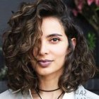 Naturally curly short hairstyles 2020
