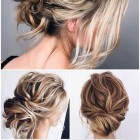 Updos for long hair 2020