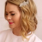 Short hair wedding styles 2016