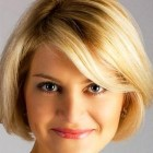 Best short haircuts for women with round faces