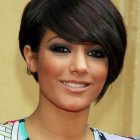 Best style haircut for round face