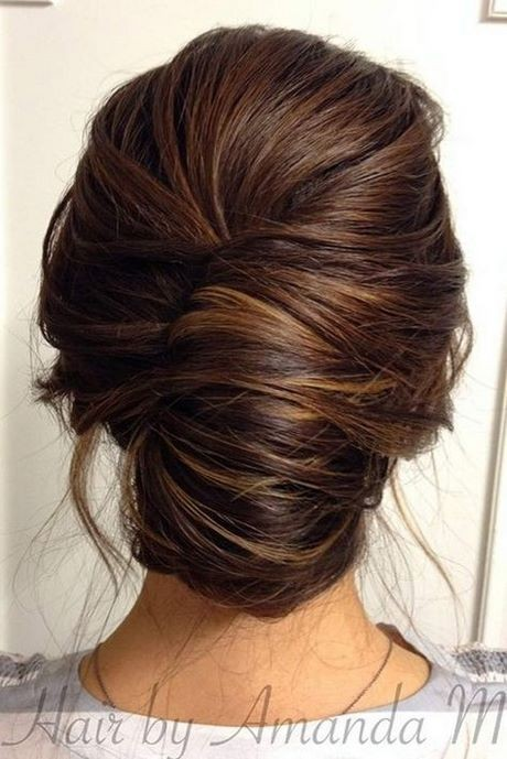 Classic updo hairstyles for long hair