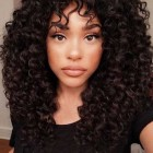 Curly hair women