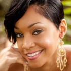 Cute short black haircuts