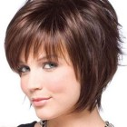 Different short hairstyles for round face