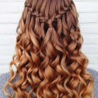 Hair designs with curls