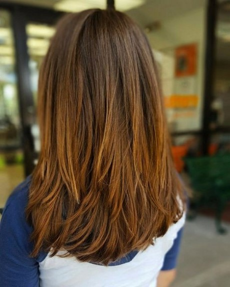 Haircut style for girl long hair