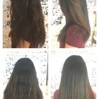 Hairstyles for one length hair