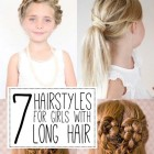 Hairstyles for people with long hair