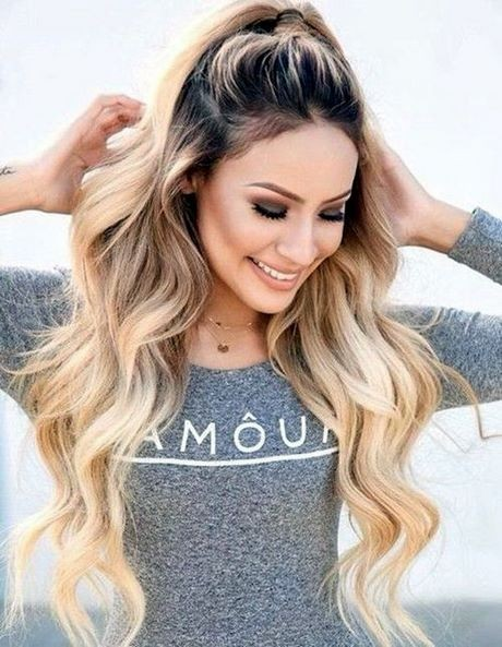 Latest fashion hairstyles for long hair