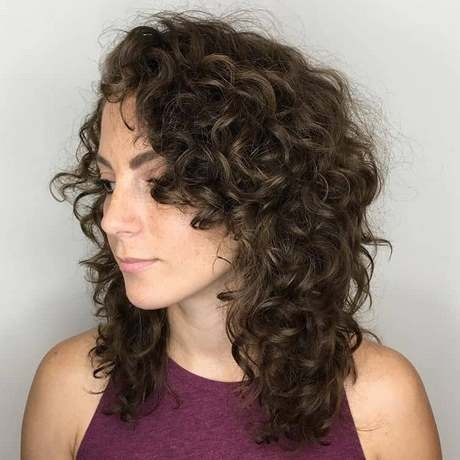 Latest hairstyle for curly hair