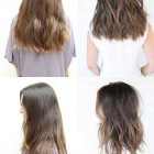 Medium to long length haircuts