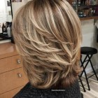 Modern haircuts for medium length hair