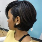 Short bob black hair