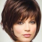 Short layered haircuts for fat faces