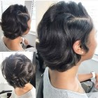 Short length black hairstyles