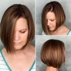 Simple short haircuts for round faces