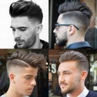 Stylish haircut