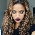 Trendy hairstyles for curly hair