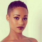 Very short hairstyles for black ladies
