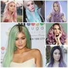 Colour hairstyles 2016