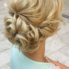 Ball hair updo