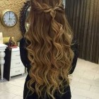 Braided formal hair