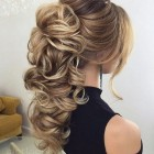 Bridal hair for long hair