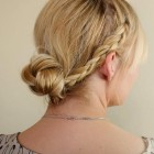 Bridesmaid bun hairstyles