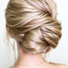 Bridesmaid bun updos