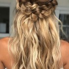 Bridesmaid hair braid