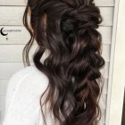 Bridesmaid hairdos for long hair